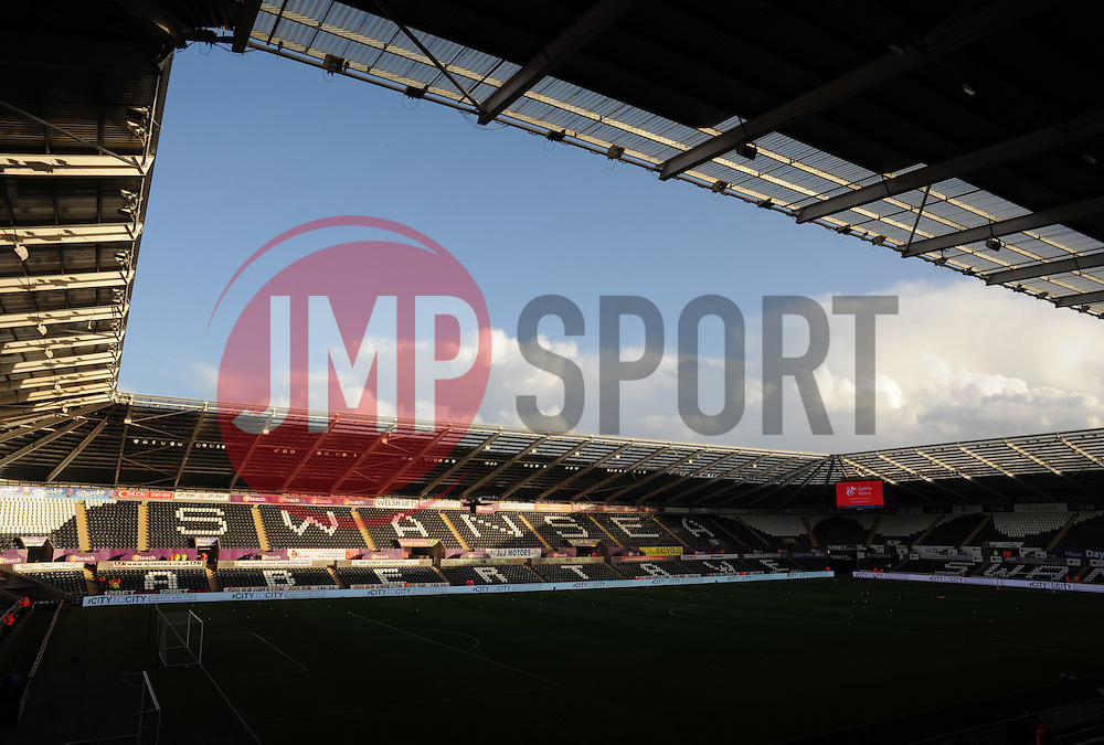 General View inside the Liberty Stadium.  - Mandatory byline: Alex James/JMP - 07966 386802 - 20/12/2015 - FOOTBALL - Liberty Stadium - Swansea, England - Swansea City v West Ham United - Barclays Premier League