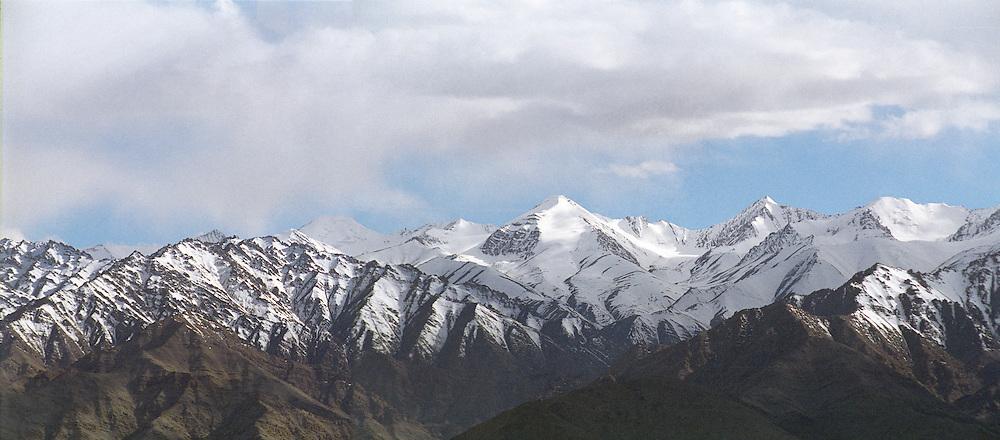 Ladakh Himalayas - panorama