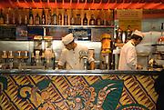 Naples, Italy, 2006-Baristas in a Neapolitan cafe