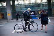 Boris Johnson, Ark fundraising dinner and auction. ( Absolute Return for Kids ) Old Eurostar Terminal. Waterloo Station. London. 4 June 2009