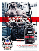 Published adverts with product photos shot for USN South Africa.<br />