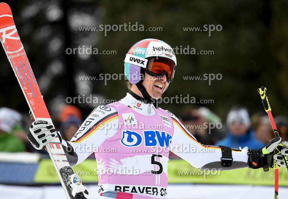 03.12.2017, Beaver Creek, USA, FIS Weltcup Ski Alpin, Beaver Creek, Riesenslalom, Herren, Siegerehrung, im Bild Stefan Luitz (GER, 3. Platz) // third placed Stefan Luitz of Germany during the winner Ceremony for the men's Giant Slalom of FIS Ski Alpine World Cup at the Beaver Creek, United Staates on 2017/12/03. EXPA Pictures © 2017, PhotoCredit: EXPA/ Erich Spiess