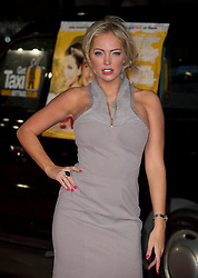 Aisleyne Horgan-Wallace  arrives for the Run For Your Wife - UK film premiere Odeon -Leicester Sq- London Brit comedy about a happily married man - with two wives, Tuesday  February 5, 2013. Photo: Andrew Parsons / i-Images