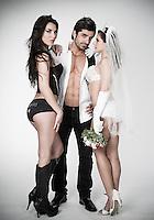 Bride Groom Mistress / Bridesmaid