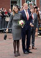 Kerkrade/Heerelen/Sittard-Geleen, 08-10-2015<br /> <br /> County visit of King Willem-Alexander and Queen Maxima at South Limburg.<br /> <br /> <br /> <br /> Photo: Royalportraits Europe/Bernard Ruebsamen