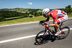 David Per (SLO) of Adria Mobil during 2nd Stage of 26th Tour of Slovenia 2019 cycling race between Maribor and Celje (146,3 km), on June 20, 2019 in  Slovenia. Photo by Vid Ponikvar / Sportida