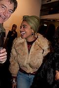 ROX, 'Engagement' exhibition of work by Jennifer Rubell. Stephen Friedman Gallery. London. 7 February 2011. -DO NOT ARCHIVE-© Copyright Photograph by Dafydd Jones. 248 Clapham Rd. London SW9 0PZ. Tel 0207 820 0771. www.dafjones.com.