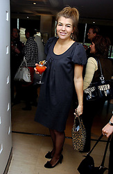 AMBER NUTTALL at a lunch hosted by Fawaz Gruosi to celebrate the launch of De Grisogono's latest watch 'Be Eight' held at Nobu, 19 Old Park Lane, London W1 on 30th November 2006.<br />