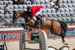 Schou Andreas, DEN, A-Girl<br /> European Championship Jumping<br /> Rotterdam 2019<br /> © Hippo Foto - Dirk Caremans