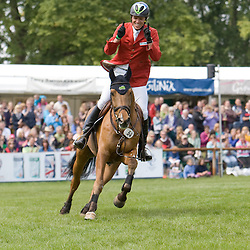 Kai Reuder and Saaten Unions Charly Weld at Bramham IHT 2011