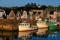 Fishing boats, Stanley Bridge, Prince Edward Island, Canada