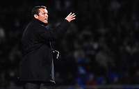 Photo: Ashley Pickering/Sportsbeat Images.<br /> Ipswich Town v Barnsley. Coca Cola Championship. 01/12/2007.<br /> Ipswich manager Jim Magilton watches his side held to a draw