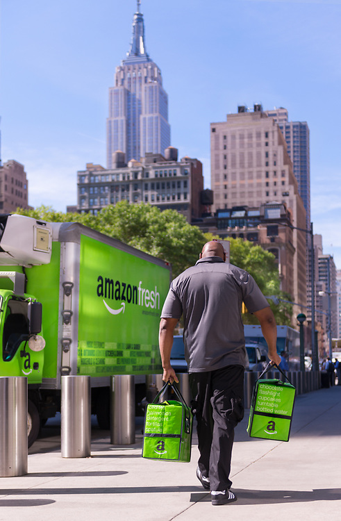 Free same-day and early morning delivery on orders over $50 including thousands of Amazon items, fresh grocery and local products. Thousands of everyday essentials, delivered at the time slot of your choice. What's on your list? Whether it's apples, shampoo, or a digital camera, we've got what you need to keep your household running smoothly. Shop from neighborhood merchants and enjoy delivery alongside your other AmazonFresh groceries, saving you trips across town and minimizing your to-do list. We carry prepared meals, quality meat and seafood, baked goods, unique ingredients for a special recipe, and plenty more. Whether you're looking for easy meal ideas or everyday staples like fresh baked bread, we've got you covered.
