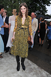 AMBER ANDERSON at the annual Serpentine Gallery Summer Party sponsored by Burberry held at the Serpentine Gallery, Kensington Gardens, London on 28th June 2011.
