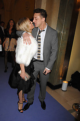 PATSY KENSIT and JEREMY HEALY at the 10th Anniversary Party of the Lavender Trust, Breast Cancer charity held at Claridge's, Brook Street, London on 1st May 2008.<br />