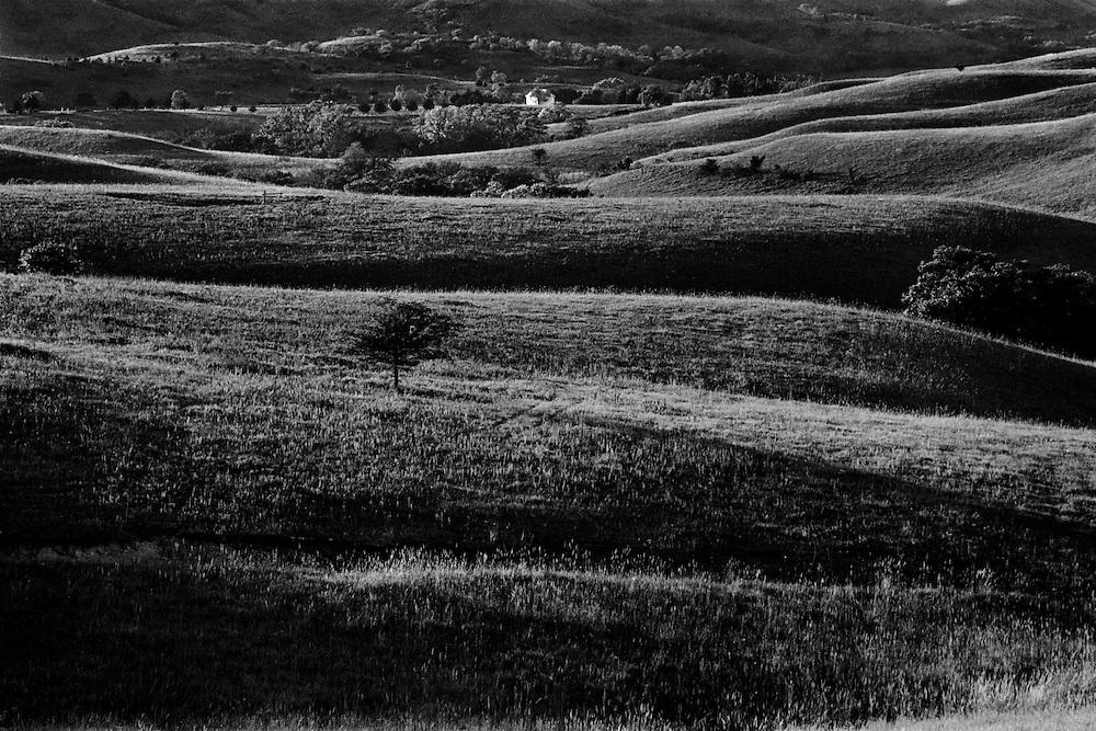 Rolling Flint Hills, near Westmoreland, Kansas