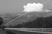 Thunderhead in summer over Gundagai in NSW