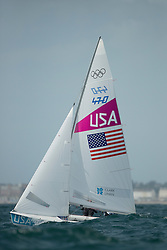 2012 Olympic Games London / Weymouth<br /> Biehl Graham, Stuart McNay, (USA, 470 Men)