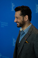 Actor Cas Anvar at the photocall for the film The Operative (Die Agentin) at the 69th Berlinale International Film Festival, on Sunday 10th February 2019, Hotel Grand Hyatt, Berlin, Germany.