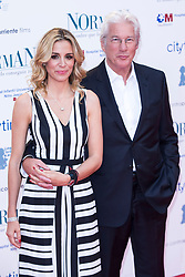Alejandra Silva and Richard Gere attend Norman: The Moderate Rise and Tragic Fall of a New York Fixer Premiere at Callao Cinema in Madrid, Spain, on May 31, 2017. Photo by Rodrigo Jimenez/AlterPhotos/ABACAPRESS.COM