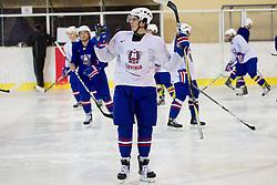 Peter Bizalj during Practice session of Slovenian U20 ice-hockey team, on December 08, 2011 in Ledena dvorana, Bled, Slovenia. (Photo By Vid Ponikvar / Sportida.com)