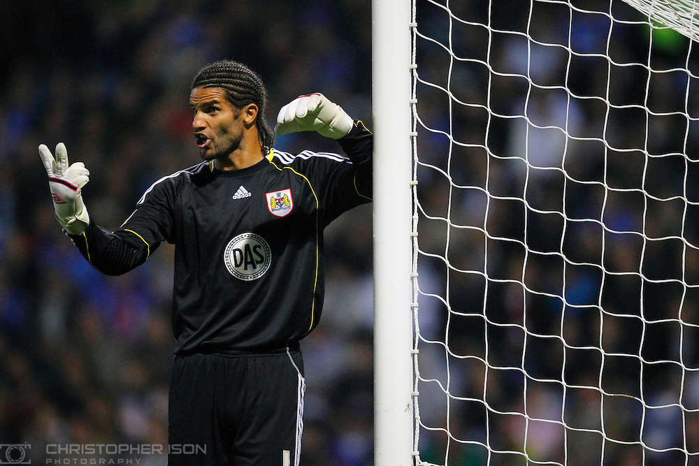 England goalkeeper David James of Bristol City FC returns to Portsmouth, his former club, for their nPOWER Championship match at Fratton Park.