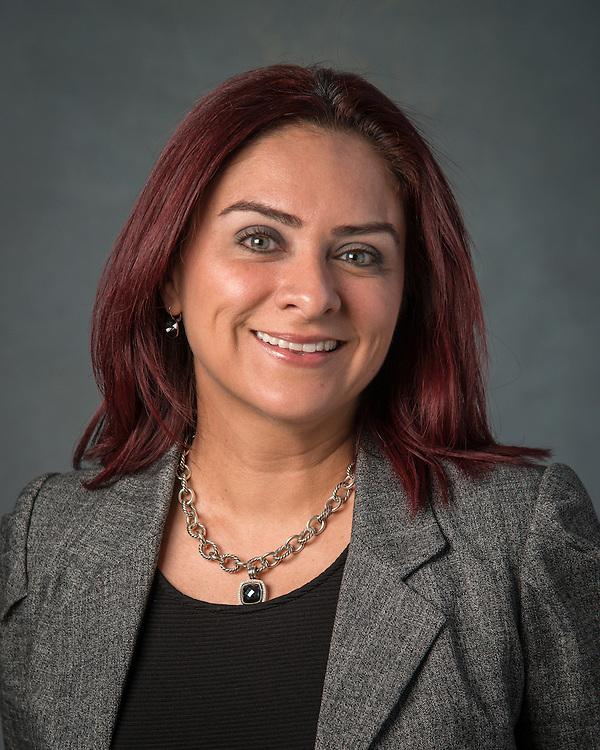 Sandra Menxueiro poses for a photograph, September 2, 2015.