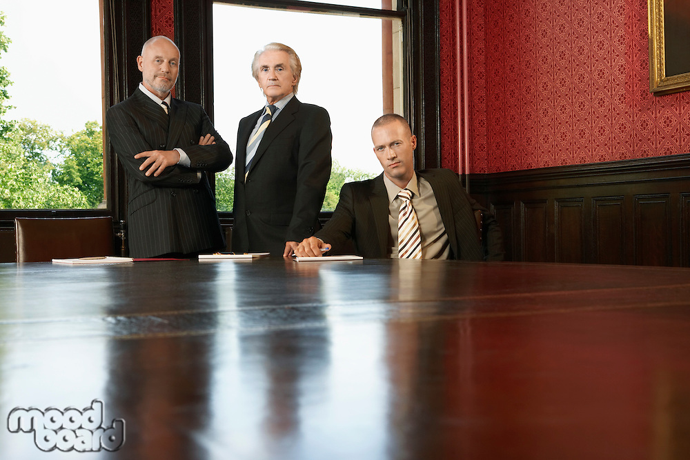 Men in Conference Room
