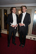 RUPERT STONE AND WILLIAM HANBURY, The Royal Caledonian Ball 2008. In aid of the Royal Caledonian Ball Trust. Grosvenor House. London. 2 May 2008.  *** Local Caption *** -DO NOT ARCHIVE-? Copyright Photograph by Dafydd Jones. 248 Clapham Rd. London SW9 0PZ. Tel 0207 820 0771. www.dafjones.com.