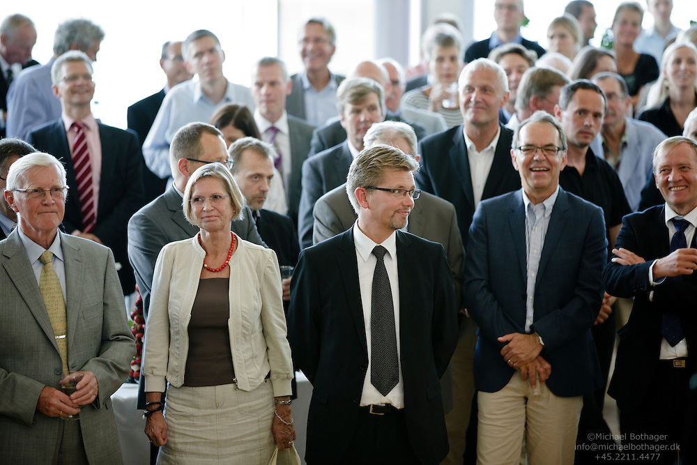 A reception held for Peter Gorm Hansen, CEO at Local Government Denmark (LGDK), in honor of his retirement.
