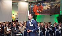 AMSTERDAM - Nationaal Golf Congres & Beurs 2015. NVG. Hidde Verschuur.  FOTO KOEN SUYK