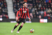Adam Smith (15) of AFC Bournemouth during the Premier League match between Bournemouth and West Bromwich Albion at the Vitality Stadium, Bournemouth, England on 17 March 2018. Picture by Graham Hunt.