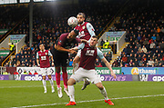 Chris Wood of Burnley in action during the The FA Cup match between Burnley and Peterborough United at Turf Moor, Burnley, England on 4 January 2020.