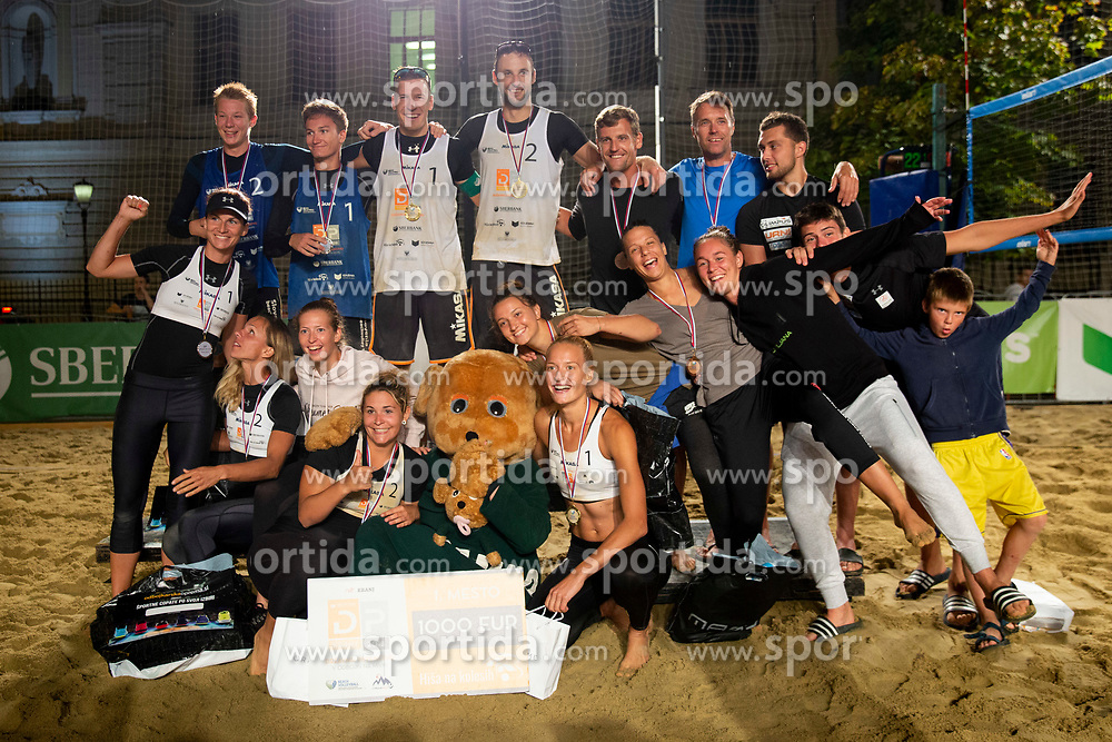 After Beach Volleyball Slovenian National Championship 2018, on July 21, 2018 in Kranj, Slovenia. Photo by Urban Urbanc / Sportida