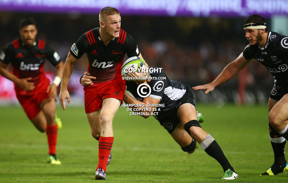 DURBAN, SOUTH AFRICA - MARCH 26: Nemani Nadolo of the BNZ Crusaders during the Super Rugby match between Cell C Sharks and BNZ Crusaders at Growthpoint Kings Park on March 26, 2016 in Durban, South Africa. (Photo by Steve Haag/Gallo Images)