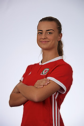 SLOUGH, ENGLAND - Monday, August 26, 2019: Wales' Ella Powell. (Pic by David Rawcliffe/Propaganda)