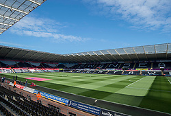 General view inside the Liberty stadium.  - Mandatory by-line: Alex James/JMP - 22/04/2017 - FOOTBALL - Liberty Stadium - Swansea, England - Swansea City v Stoke City - Premier League