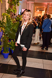 """Sophie Kennedy Clark at the opening of """"Frida Kahlo: Making Her Self Up"""" Exhibition at the V&A Museum, London England. 13 June 2018."""