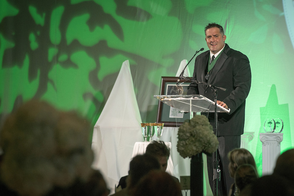 Former Ohio University Wrestler, Timothy Courtad, was inducted into the Kermit Blosser Ohio Athletics Hall of Fame during the 2016 Alumni Awards Gala at Ohio University's Baker Center Ballroom on Friday, October 07, 2016.