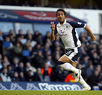 Photo: Chris Ratcliffe.<br />Tottenham Hotspur v Sunderland. The Barclays Premiership. 03/12/2005.<br />Mido