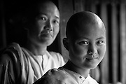 Nuns at a monastery in Nyaung Shwe.