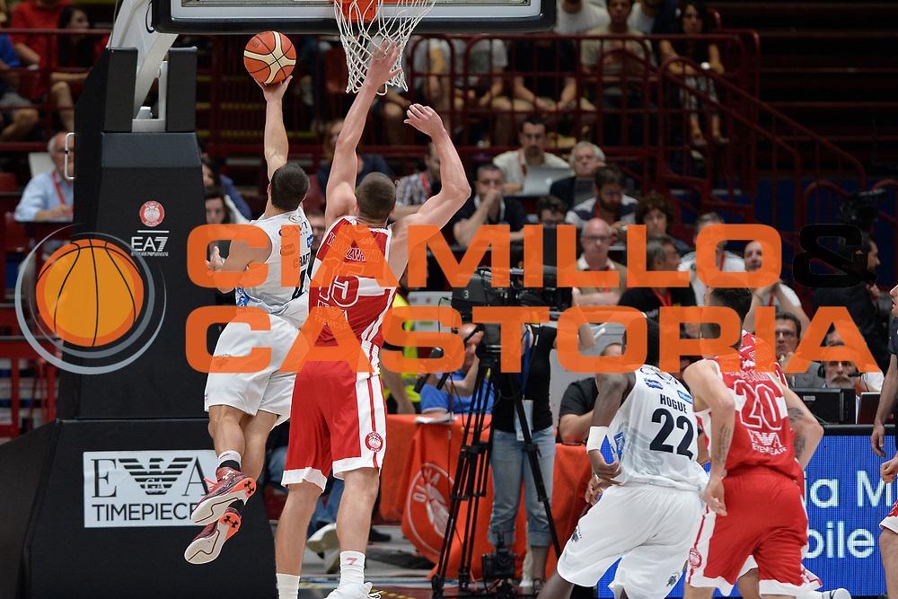 Craft Aaron<br /> Olimpia EA7 Emporio Armani Milano vs Dolomiti Energia Trentino<br /> Lega Basket Serie A 2016/2017<br /> PlayOff semifinale gara 2<br /> Milano 27/05/2017<br /> Foto Ciamillo-Castoria / I.Mancini