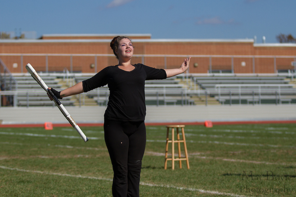 Triton High School's marching band performs at the South Jersey Chapter Championships held at Clearview High School on Sunday October 21, 2012. (photo / Mat Boyle)