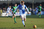 Bristol Rovers Rory Gaffney (30) on the ball during the EFL Sky Bet League 1 match between Bristol Rovers and Scunthorpe United at the Memorial Stadium, Bristol, England on 24 February 2018. Picture by Gary Learmonth.