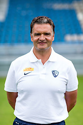 07.07.2015, Rewirpower Stadion, Bochum, GER, 2. FBL, VfL Bochum, Fototermin, im Bild Vereinsarzt Priv.-Doz. Dr. Karl-Heinz Bauer (Bochum) // during the official Team and Portrait Photoshoot of German 2nd Bundesliga Club VfL Bochum at the Rewirpower Stadion in Bochum, Germany on 2015/07/07. EXPA Pictures &copy; 2015, PhotoCredit: EXPA/ Eibner-Pressefoto/ Hommes<br /> <br /> *****ATTENTION - OUT of GER*****