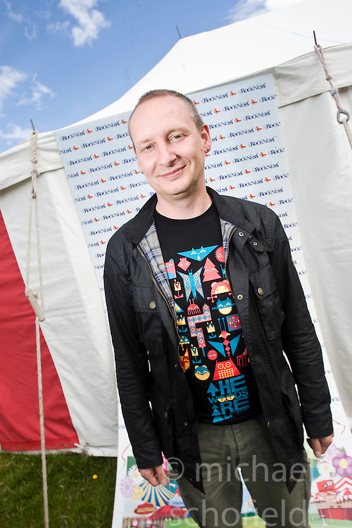 Paul Harknoll from Orbital..Rockness, Saturday 13th June 2009..Pic © Michael Schofield. All Rights Reserved.