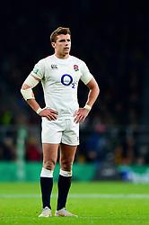 Henry Slade of England - Mandatory by-line: Dougie Allward/JMP - 24/11/2018 - RUGBY - Twickenham Stadium - London, England - England v Australia - Quilter Internationals