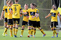 Fotball , 22. februar 2016 , privatkamp<br /> Start - Sandnes Ulf<br /> Lasse Sigurdsen , Start jubler for scoring same med Espen Børufsen , Start