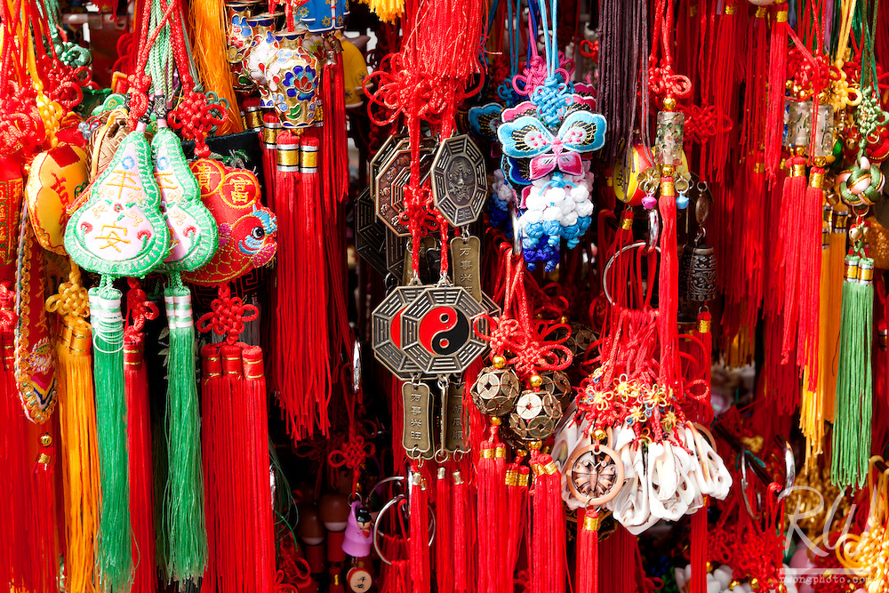 Chinese Wind Chimes for Sale in Chinatown, Vancouver, BC