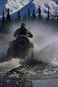 Park Ranger, Ranger, ATV, Denali National Park, Alaska